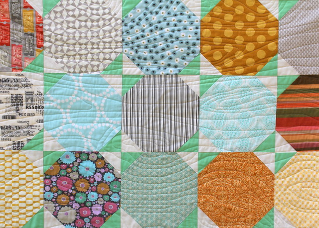 Snowball Quilt Tutorial - Finished Quilt Pic 2