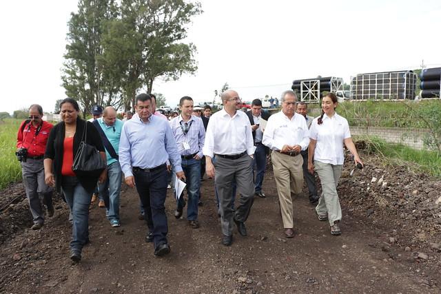 Primera Piedra Planta de Tratamiento Camino a San Isidro Mazatepec