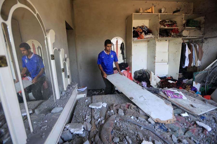 (11)MEDIO ORIENTE-GAZA-SEGURIDAD-CONFLICTO
