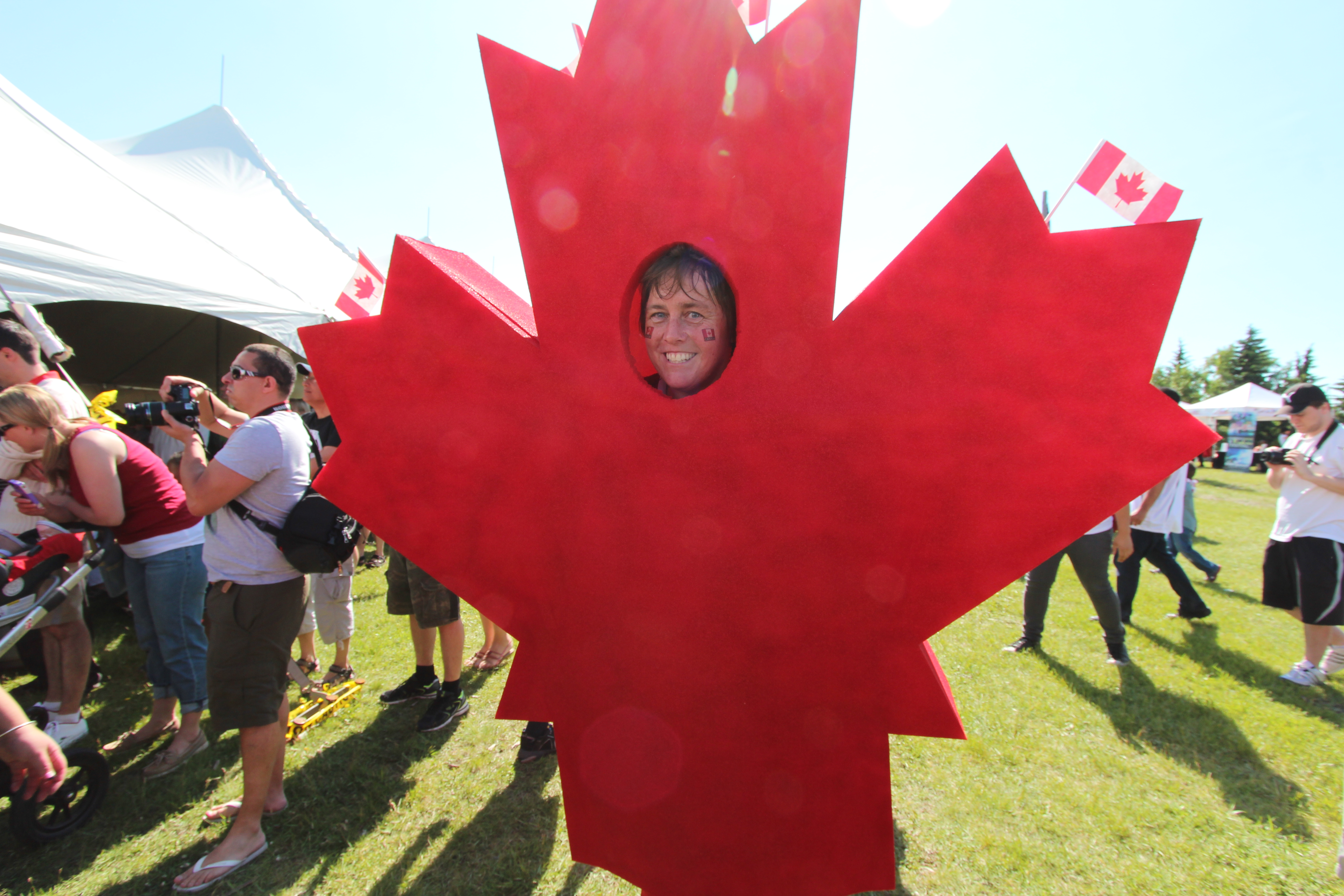 Canada day 2014 Calgary