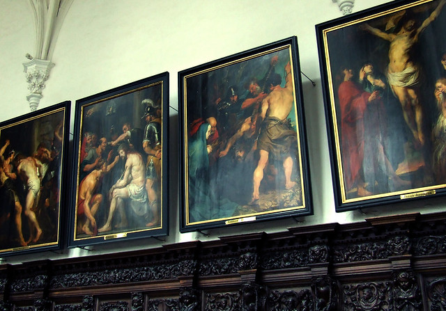 Renaissance paintings, St. Paul's, Antwerp