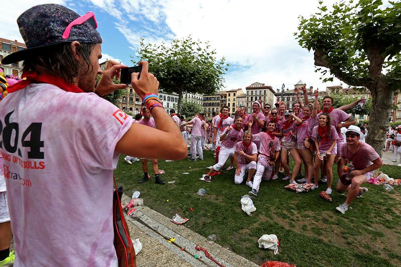 San Fermín Tour at Running of the Bulls