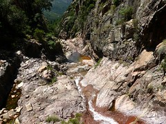 En amont de la 2ème cascade du Niffru