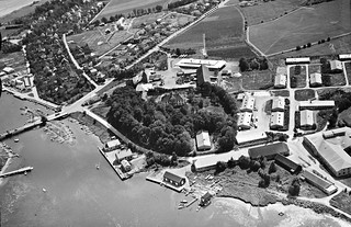 Teie hovedgård, Tønsberg bryggeri, tyskerbrakker