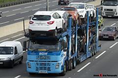 Volvo FM 400 6x2 Car Transporter - V60 ECM - ECM - M1 J10 Luton - Steven Gray - IMG_9082