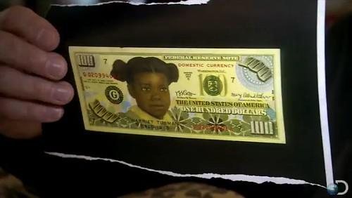 Boggs Harriet Tubman note