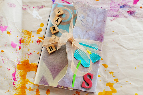 Sarah's Roben-Marie Smith inspired journal