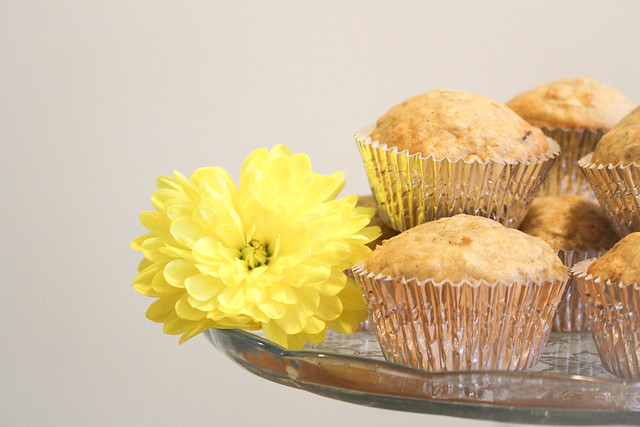 Cranberry Oat Muffins - via HeartofHomemade.com