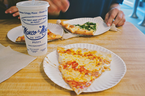 Manco and Manco's pizza.