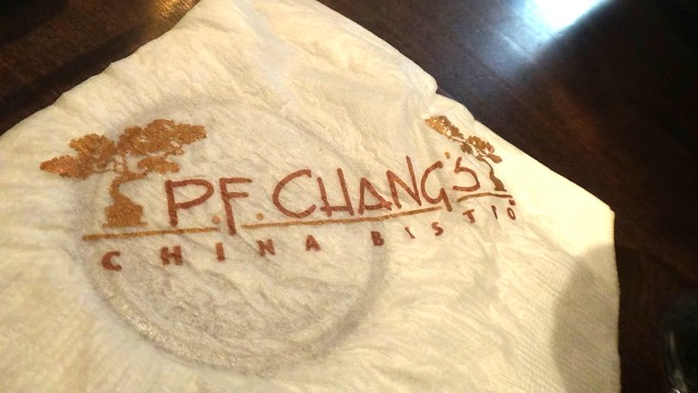 Dining at PF Changs