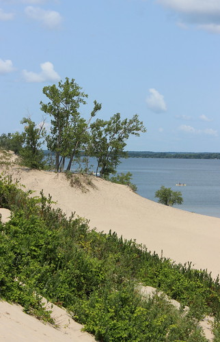 park ontario canada sand published getty on licensed sandbanksprovincialpark