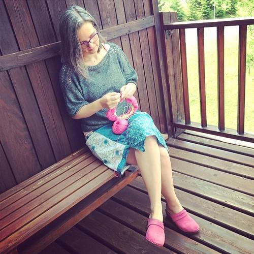 Knitting time :) Ora di lavorare a maglia :)