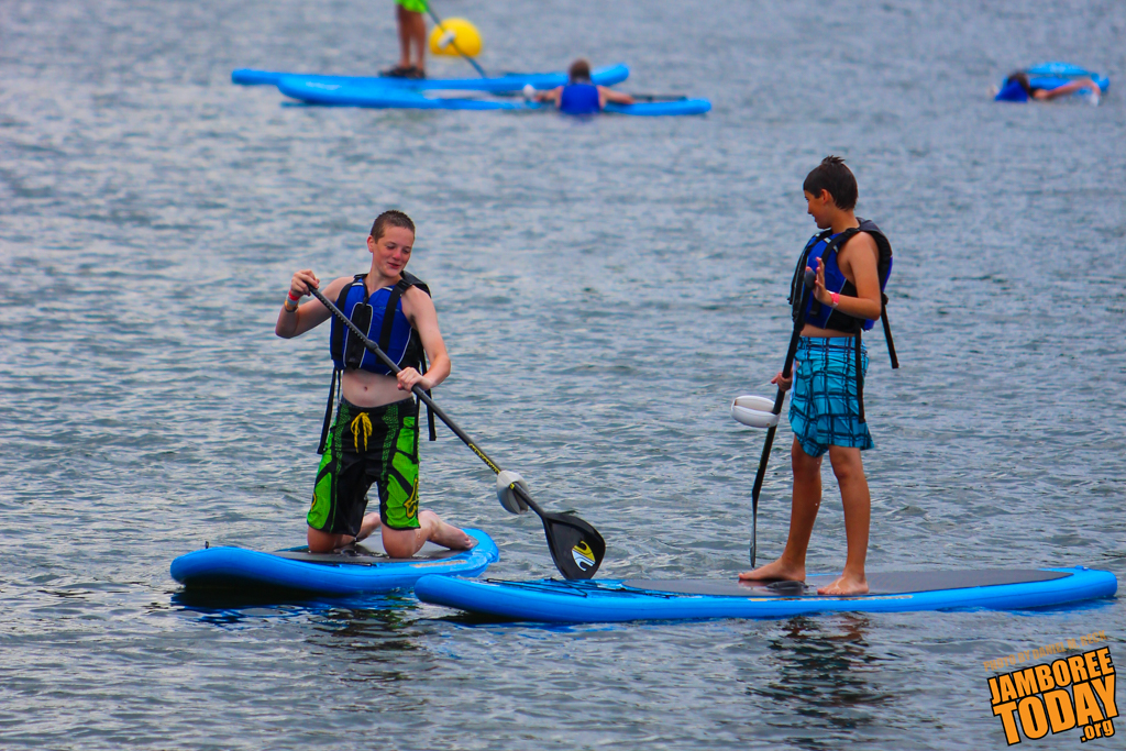 Paddle Boarding Blessed for Success