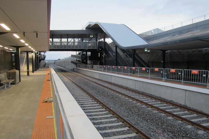 Wyndham Vale station, looking south