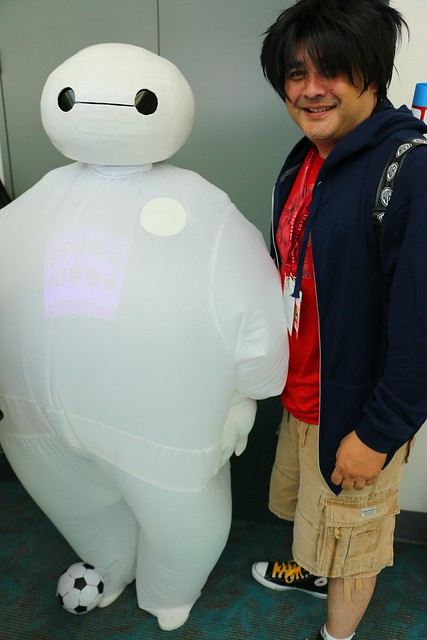 Big Hero 6 panel at San Diego Comic-Con 2014