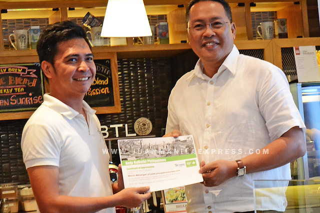 PINOY ADVENTURISTA FOR HABITAT. Pinoy Adventurista signed-up as one of Habitat Online Champion.