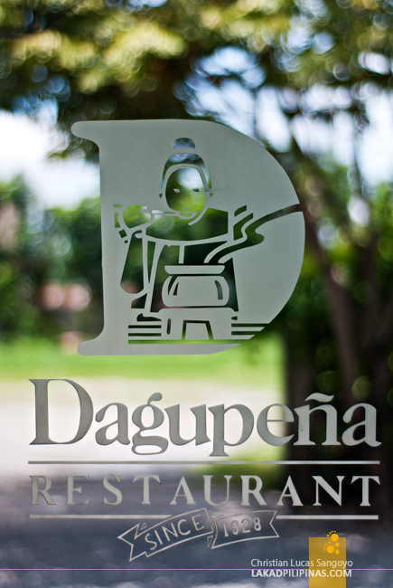 Window Details of Dagupeña Restaurant in Dagupan City