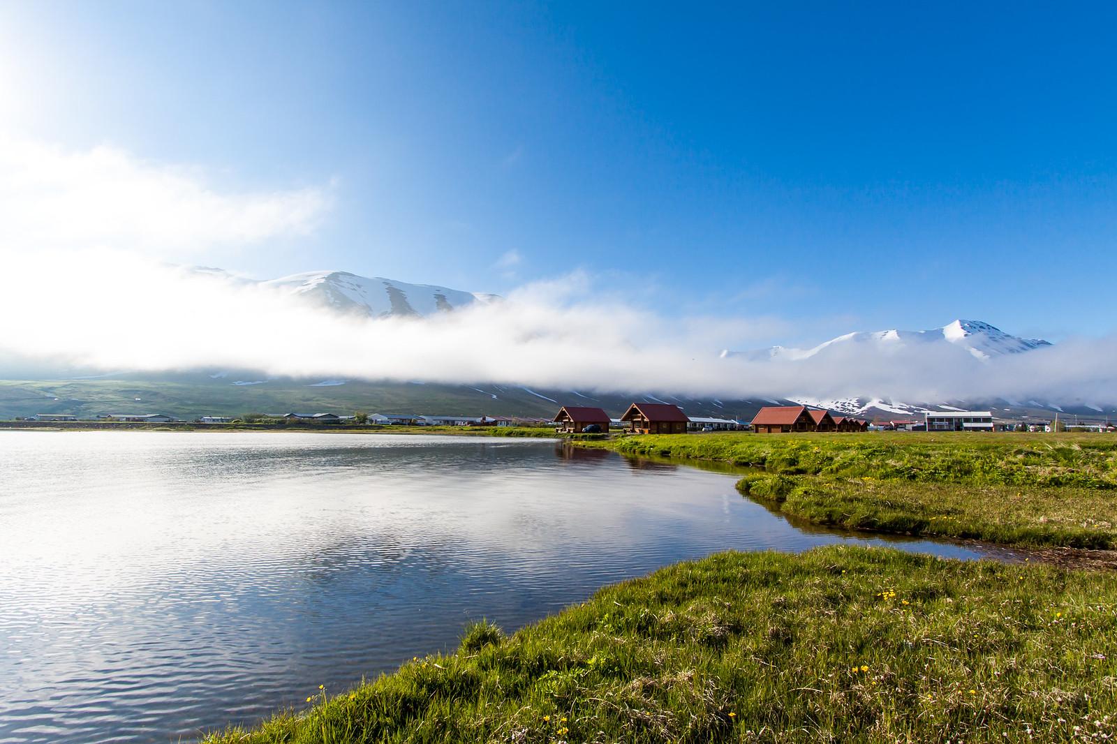 Ólafsfjörður and Ólafsfjarðarvatn