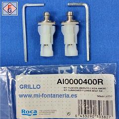 Fijacion asiento inodoro Roca AI0000400R
