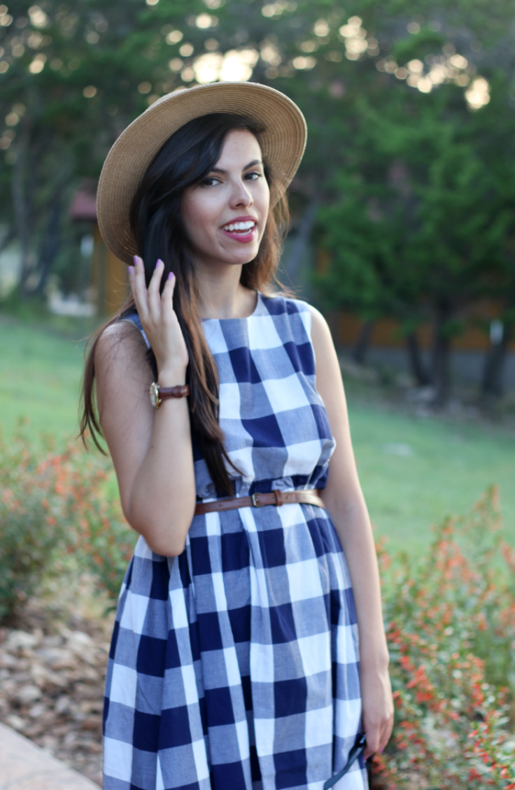 casual ASOS gingham dress, austin texas style blogger, austin fashion blogger, austin texas fashion blog