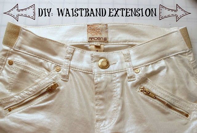 diy waistband extension