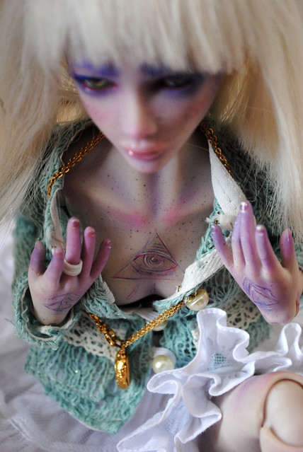 ( Sarah Magnetic Duckling) : Holy et le lama (bas p2) 14803698750_28746a69f3_z