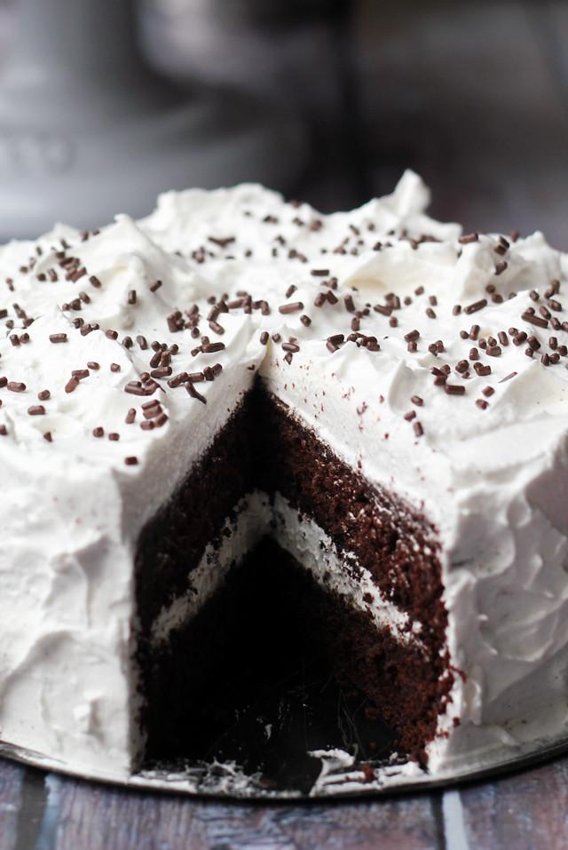 Devil's Food Cake With Brown Sugar Buttercream Recipes — Dishmaps