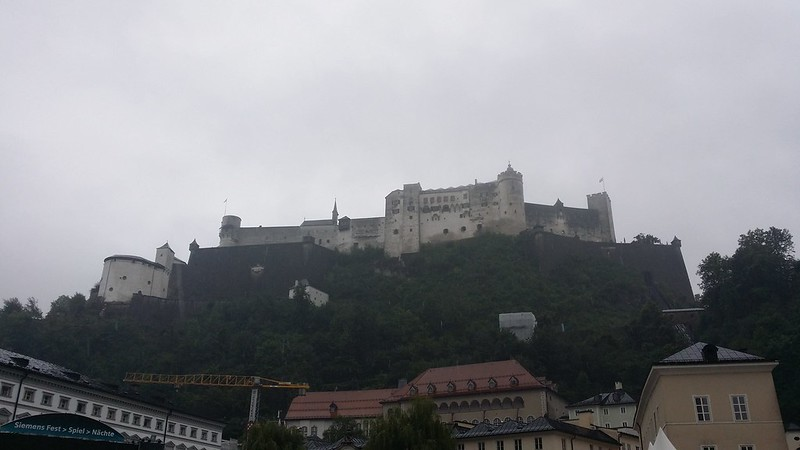 Salzburg Fortress, the largest standing castle in Europe, apparently