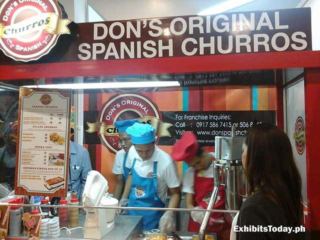 Don's Original Spanish Churros Booth