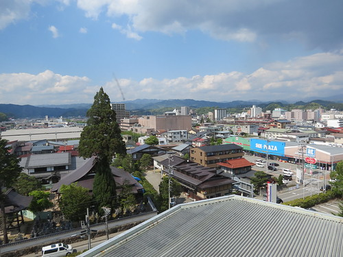 View from the Takayama Green Hotel