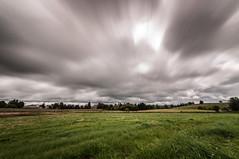 Blown away clouds