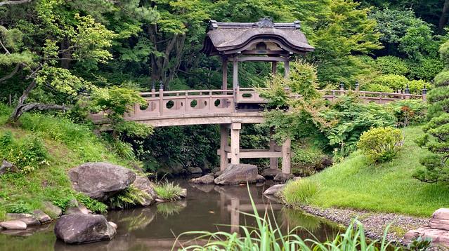 Sankei-en Gardens, Yokohama, Japan