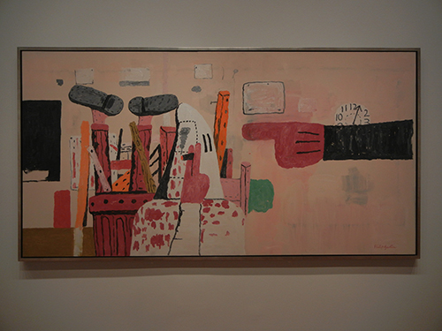 DSCN0025 _ Courtroom, 1970, Philip Guston, NGA at De Young