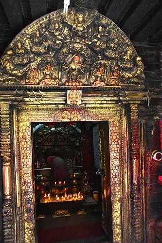 golden buddhist shrine