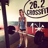 Lift heavy shit! #26point2crossfit  @26point2crossfit #girlsofcrossfit #crossfitgirls #weight