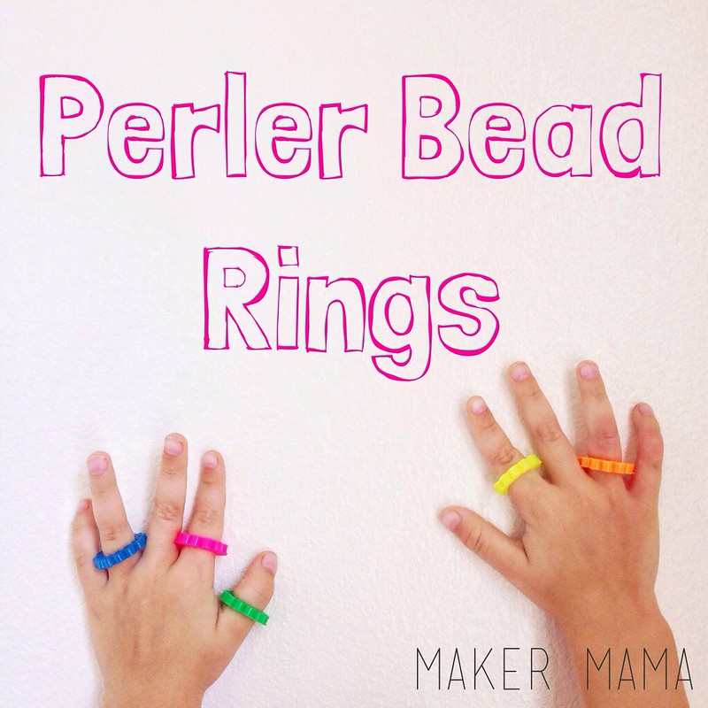 Perler Bead Rings