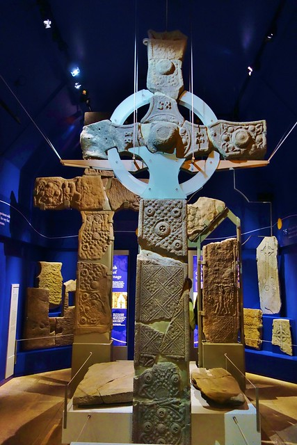 Medieval Crosses, Iona Abbey, Scotland