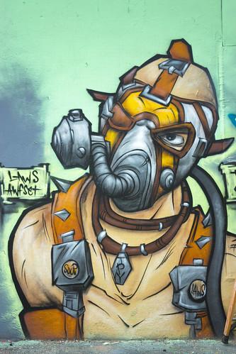The Paint Yard SATX  LAWS AWFSET TPY - San Antonio Graffiti   2014 - 005