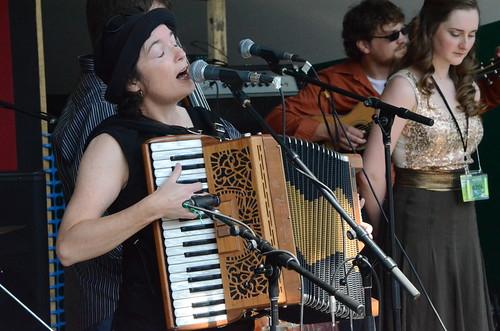 Maria Dunn & Lizzy Hoyt - Edmonton Folk Music Festival 2014