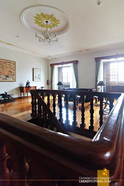 Interiors of Hotel Felicidad in Vigan City