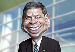 Mark Begich - Caricature