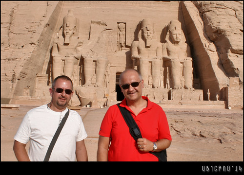 Finally in Abu Simbel