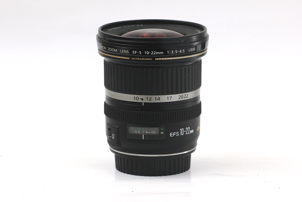 Canon EFS 10-22mm f/3.5-4.5 USM ultrawide lens