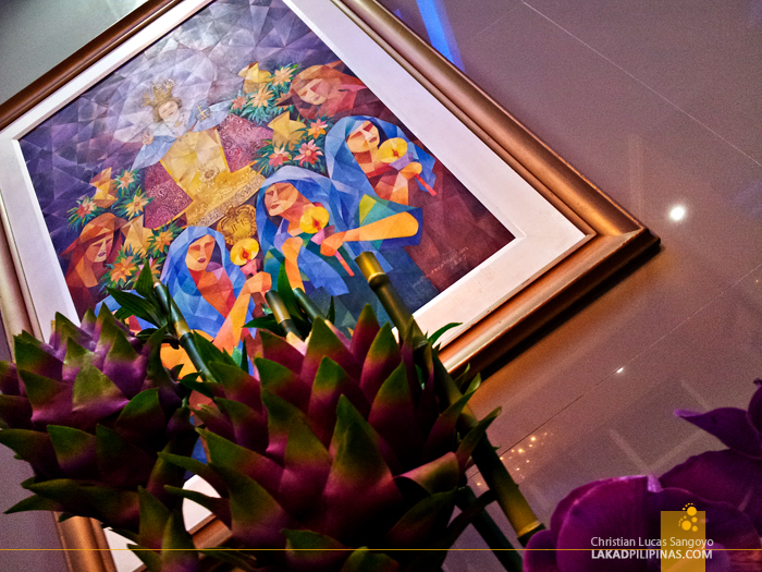 Festival Paintings at Hotel Le Duc in Dagupan City