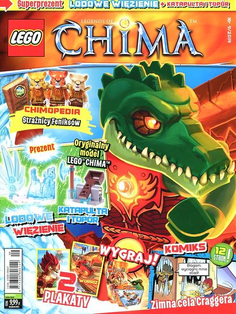 LEGO Legends of Chima Oficjalny Magazyn 2014-09 01