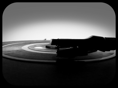 To the smooth tones of Vinyl records.