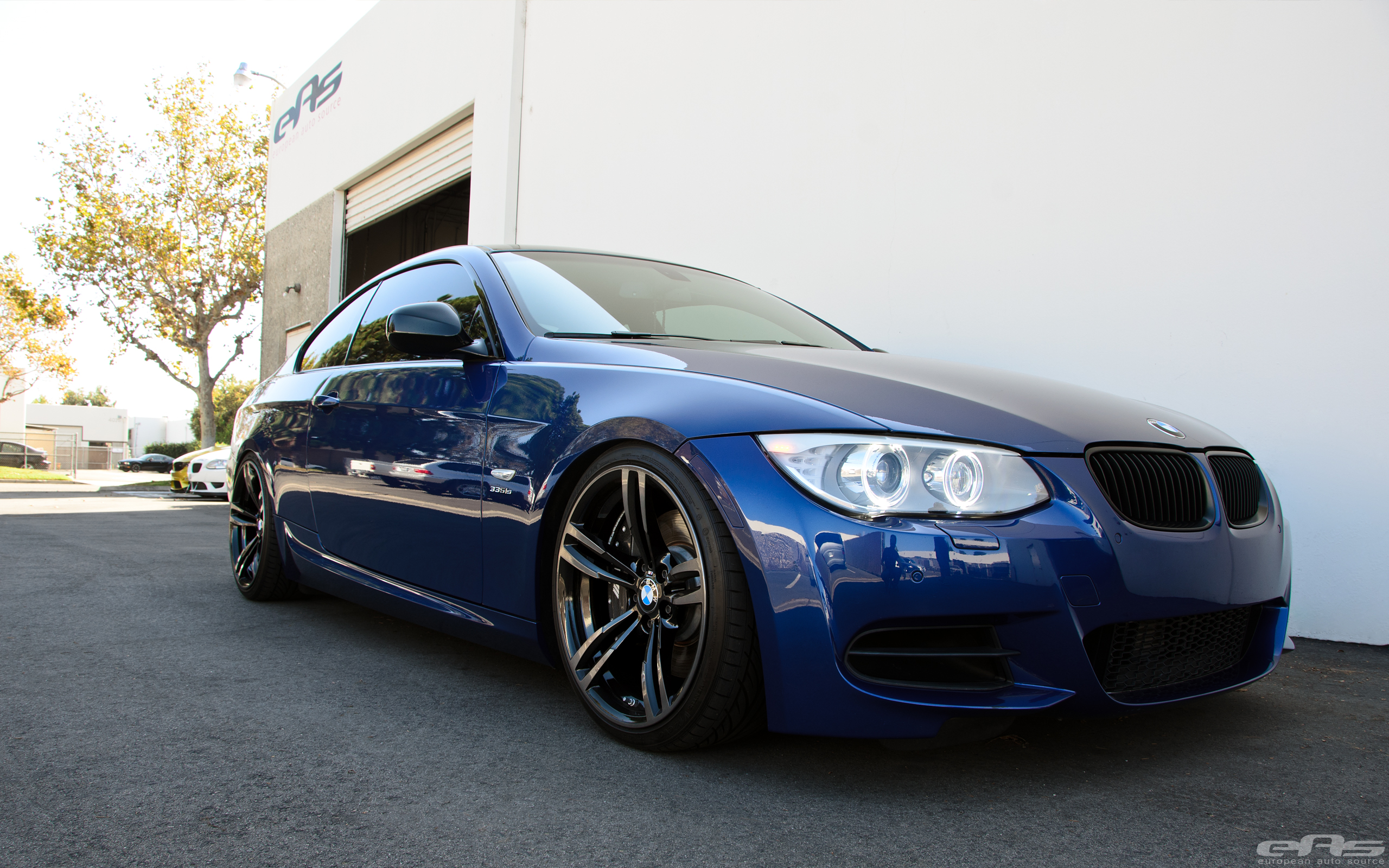 Lemans Blue E92 335is Bmw Performance Parts Amp Services