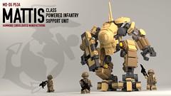 Mattis-Class Powered Infantry Support Unit