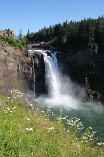 Snoqualmie Falls in Summer