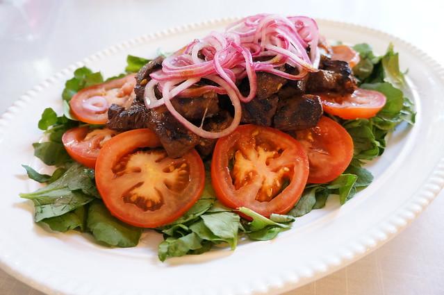 Vietnamese Shaking Beef (Bo Luc Lac)